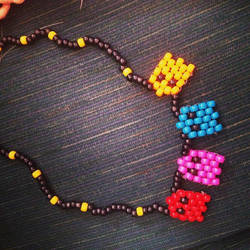 Pacman Kandi Necklace by Fuarie