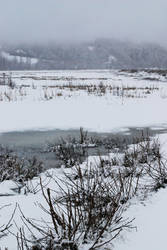 Winter Lake 1 by prints-of-stock