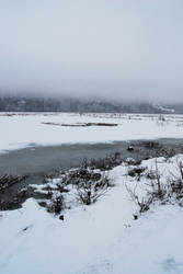 Winter Lake 6 by prints-of-stock