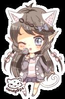 Chibi BB Emi by candydips