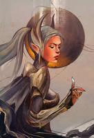Luna, Dota 2 by TGnow