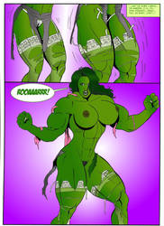 FMG - She-Hulk Unleashed #3 by TheExpansionist