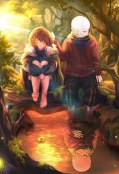 [Undertale]  Anemone  [OvergrowthFanart] by hamvitita