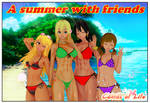 A Summer with friends by AndrewBaker69