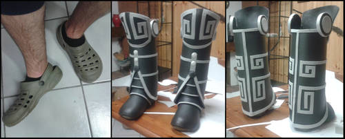 Dwemer Boots WiP by Nerv-0