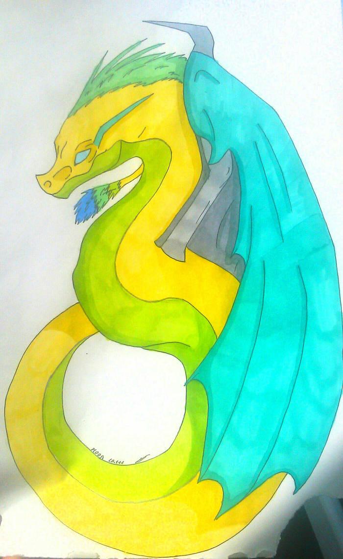 Dragon by MoonCatttt