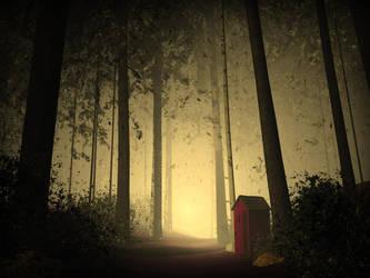 Forest Scene by ShortStuf7