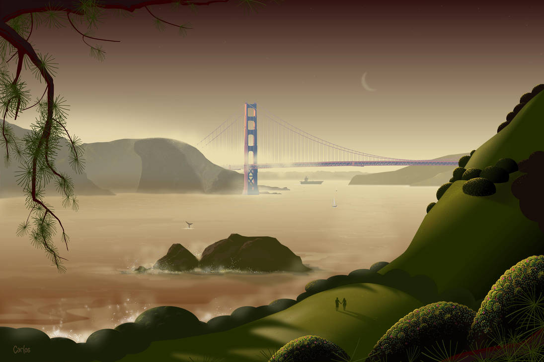 Golden Gate by TomCarlos