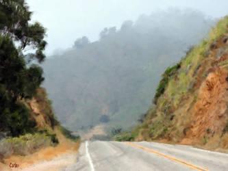 Big Sur Road by TomCarlos