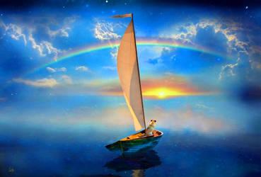 I'm Sailing Away by TomCarlos