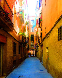 Barcelona Alley, #1 by TomCarlos