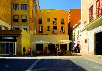 Barcelona Cafe by TomCarlos