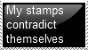 Contradicting Stamp by ShivaReaver
