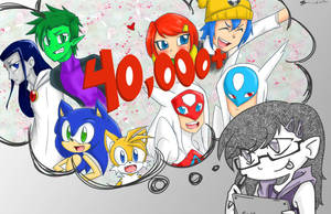 40000 plus views by MESS-Anime-Artist