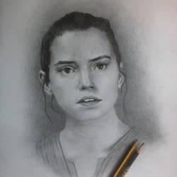 Star Wars - Rey by emilio-rizzo