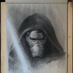 Star Wars: The Force Awakens-Kylo Ren by emilio-rizzo