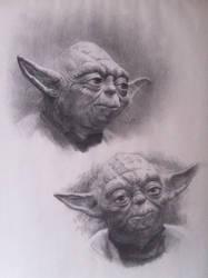 Star Wars: Yoda by emilio-rizzo