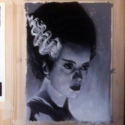 Bride of Frankenstein by emilio-rizzo