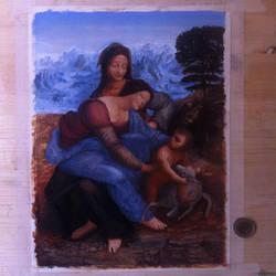 Master study - Leonardo da Vinci by emilio-rizzo