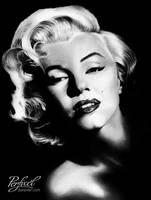 Marilyn Monroe by Perfixel