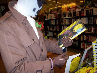Rorschach in Barnes and Noble by Reclaimer117