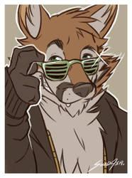 Mischievous Fox! by FelixTheFurryFox