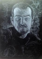 self-portraits with smoke by Juzz09