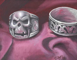 Rings Still Life by Childe--Roland