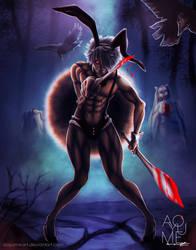 USAGI - Juuni Taisen (Zodiac War) by aoyumeart