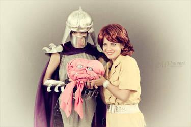 Mr and Mrs Shredder by Daniela-Chris