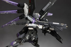 High-Nu Gundam by Karidzka