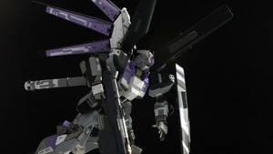 High-Nu Gundam 4 by Karidzka