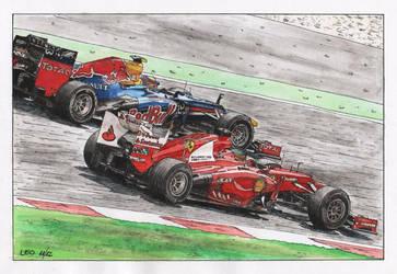 Ferrari vs Red Bull by Leotrek