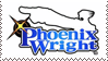 Phoenix Wright stamp by Makt91