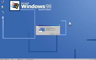 Windows 98 on Windows 7 by RMK99