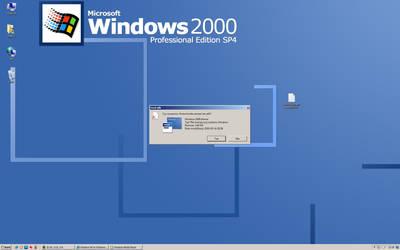 Windows 2000 on Windows 7 by RMK99