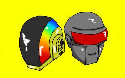 Daft Punk by The-CiK-EFFECT