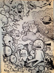 Sketchbook Page 1 by Box-Kiddo