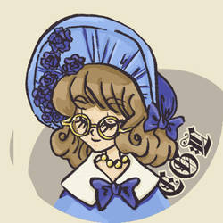 Elegant Gothic Lolita by mazosia