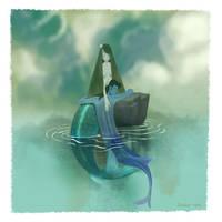 Mermaid Love by shishirnaik