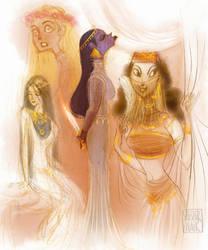 Historic ladies by shishirnaik