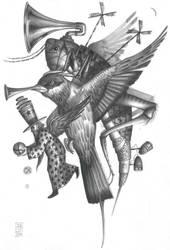 17     Drawing - pencil by draganjovanovic1609