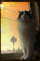 Thunder Cat by RavenA938