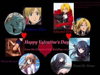 TEoL Valentine's Wallpaper by Fingahs