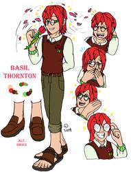 Basil Thornton Ref (OC) by DocHasegawa