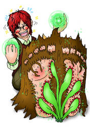 Basil's Regret and the Sundew Tickles by DocHasegawa