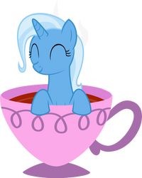 That Pony Sure Does Love Teacups by SLB94