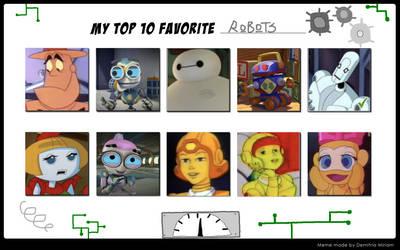 My Top 10 Favorite Robots by Dawalk86