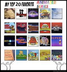 My Top 20 Favorite Animated Series by Dawalk86