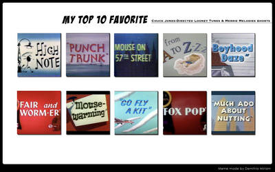 My Top 10 Favorite WB Cartoons By Chuck Jones by Dawalk86